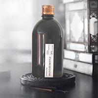 Black Matches Bottle - Copper Lid