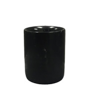 Black Marble Candle Jar