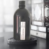 Black Matches Bottle – Matte Black Lid