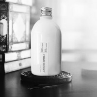 White Matches Bottle – Chrome Lid