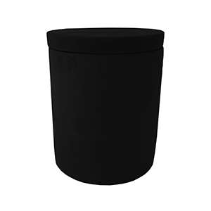Black Sandstone Candle Large