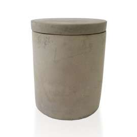 concrete candle small