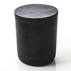 Black Sandstone Candle