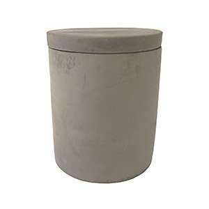 Concrete Candle Medium