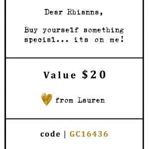 EGIFT CARD SAMPLE - $20