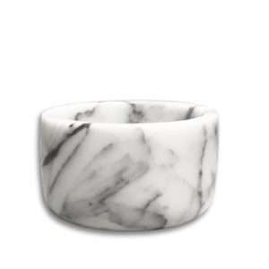 White Marble Bowl Candle